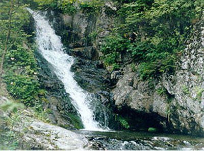 "Waterfall ""Kaskadnyi"", Olgenskiy area."